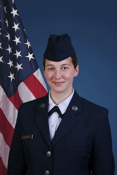 Piper Radtke Badger grad in military training