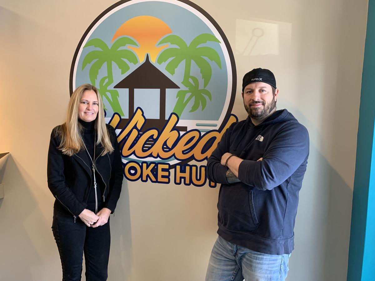 Karen Schutz and Joshua Bernicchi plan to offer a wicked taste of Hawaii