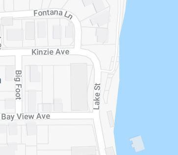 Fontana Lake Street map