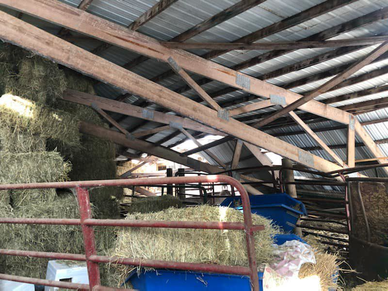 Valley of the Kings pole barn collapse