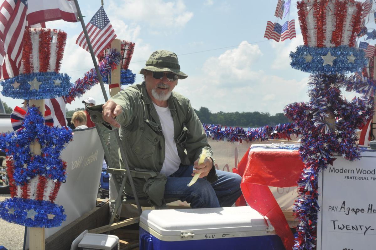 Bruce Seward in Bloomfield parade