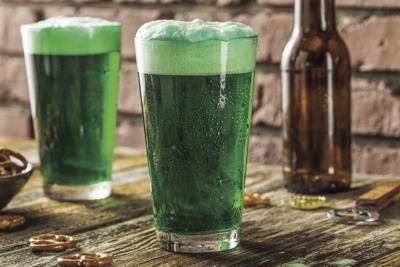 Green beer for St. Pat's Day