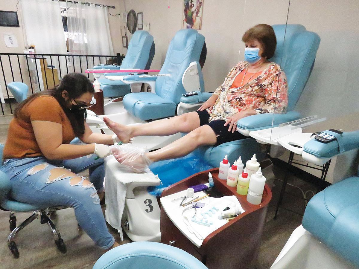 Pandemic Pedicures