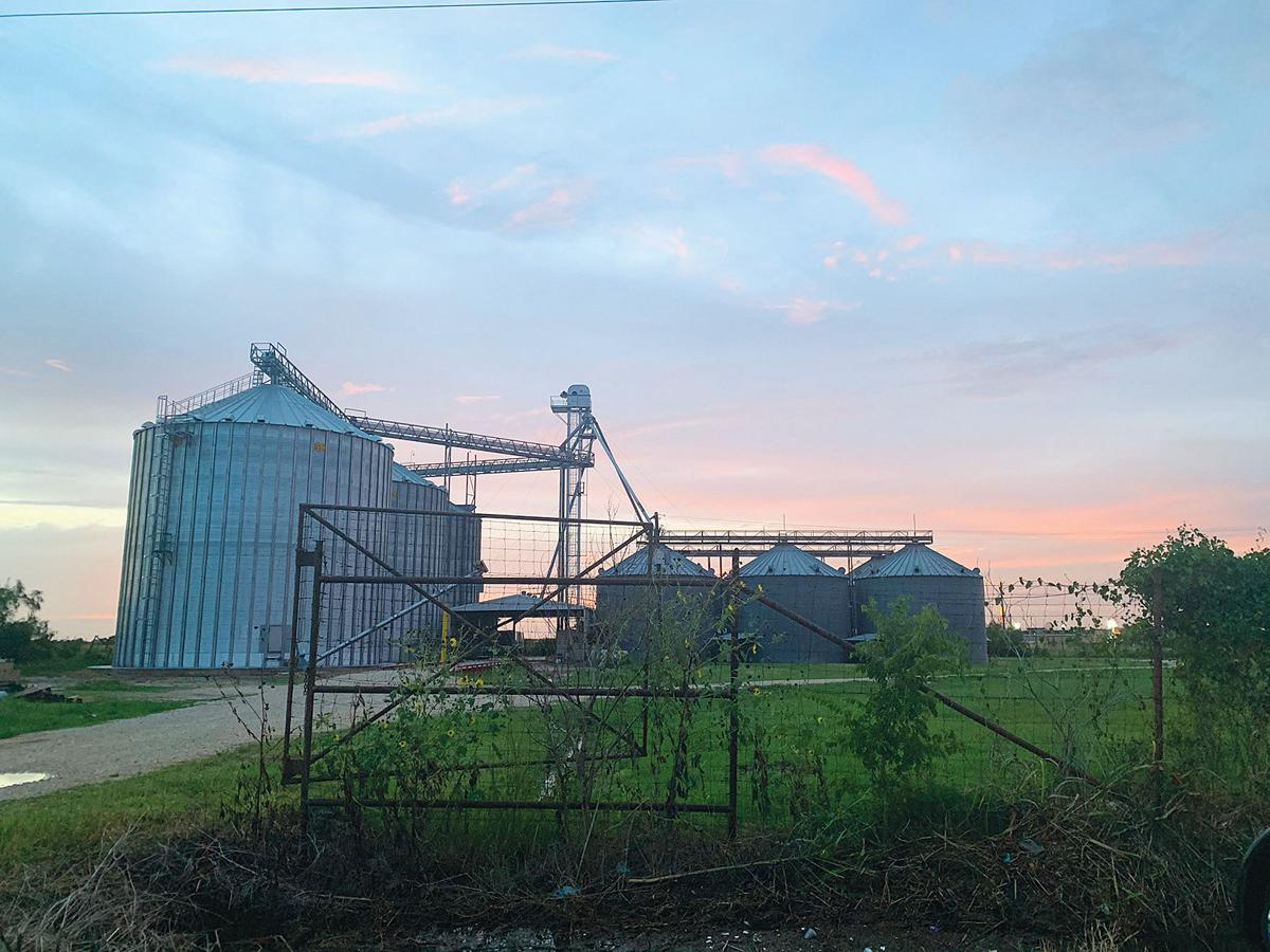 Sunset At The Silos