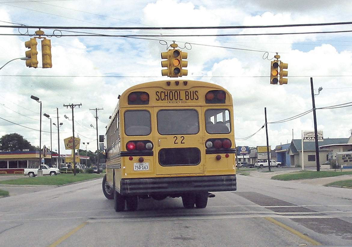 Bus Students Await Decision On Louise Isd Transfer Plan News Leader News Com