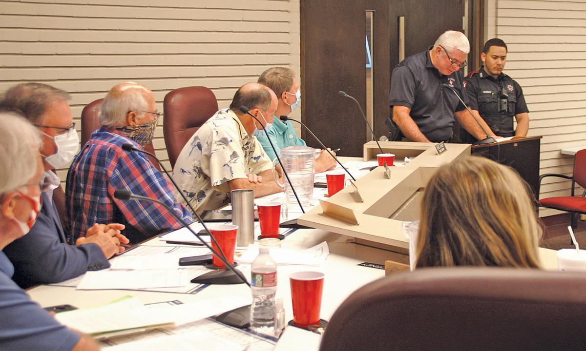 COUNCIL HEARS OF DEED