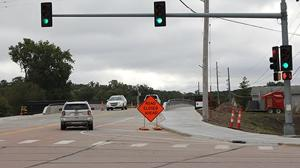 Military Road Bridge is open