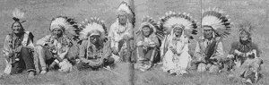 Survivors of the Battle of the Little Bighorn