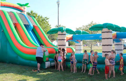 National Night Out – Waterslide