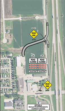 Streeter Driver realignment project