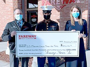 Fareway, Toys for Tots