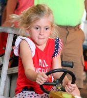 Union County Fair – Kids tractor pull