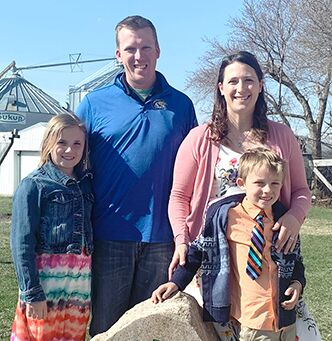 Ben Irlbeck and family