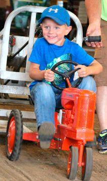 Union County Fair – Abel – Kids Pedal Pull
