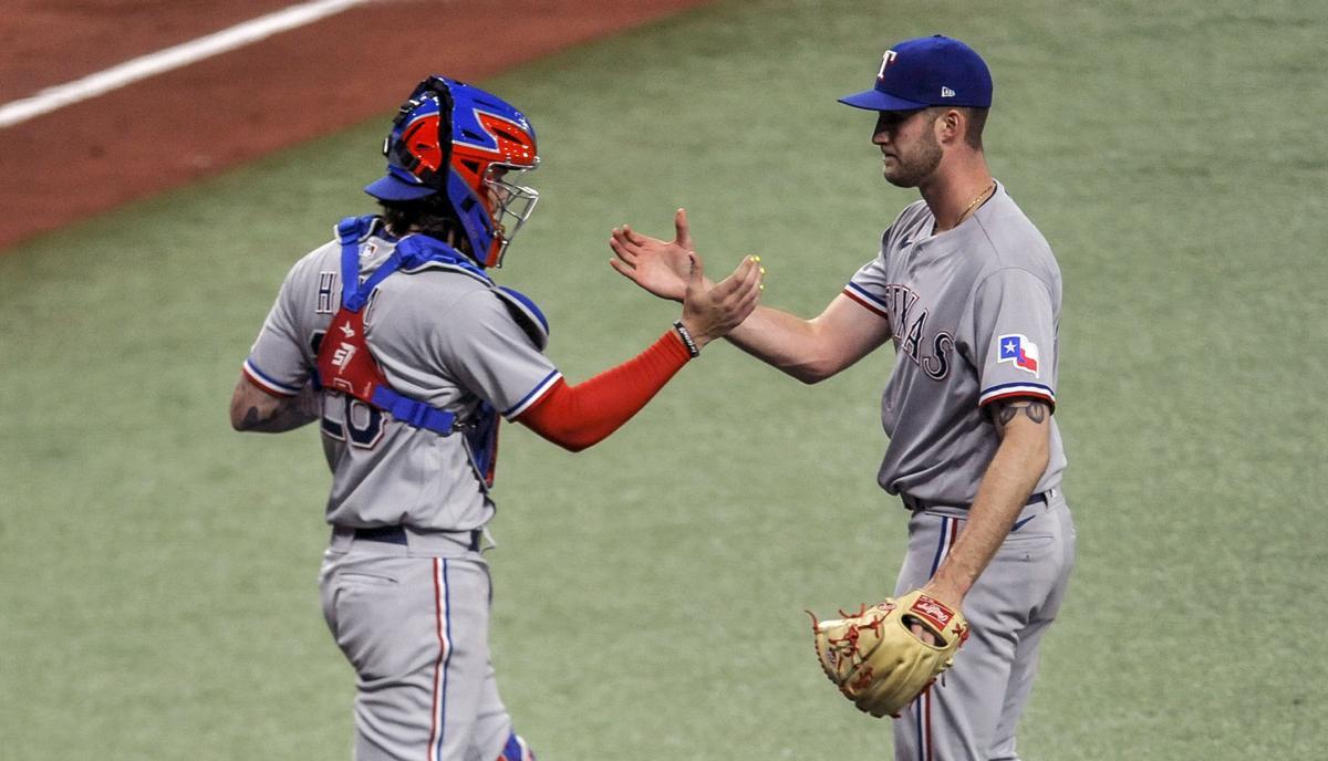 Rangers Rays Baseball