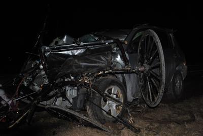 Car-buggy fatal