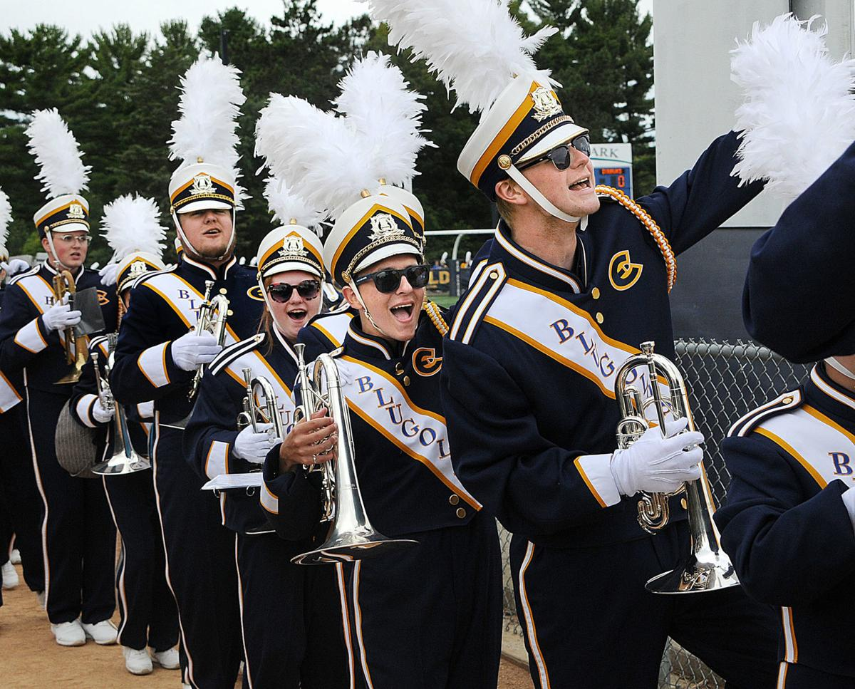 Blugold Marching Band celebrates 20th anniversary of 'rebirth'