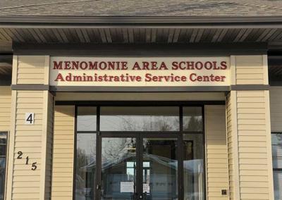 Menomonie school administration building