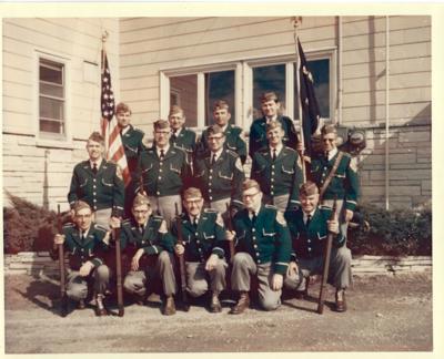 Chilton VFW Honor Guard 1968