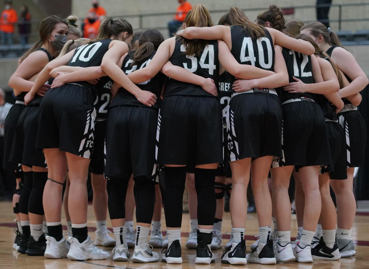 Fall Creek vs. Mishicot girls basketball