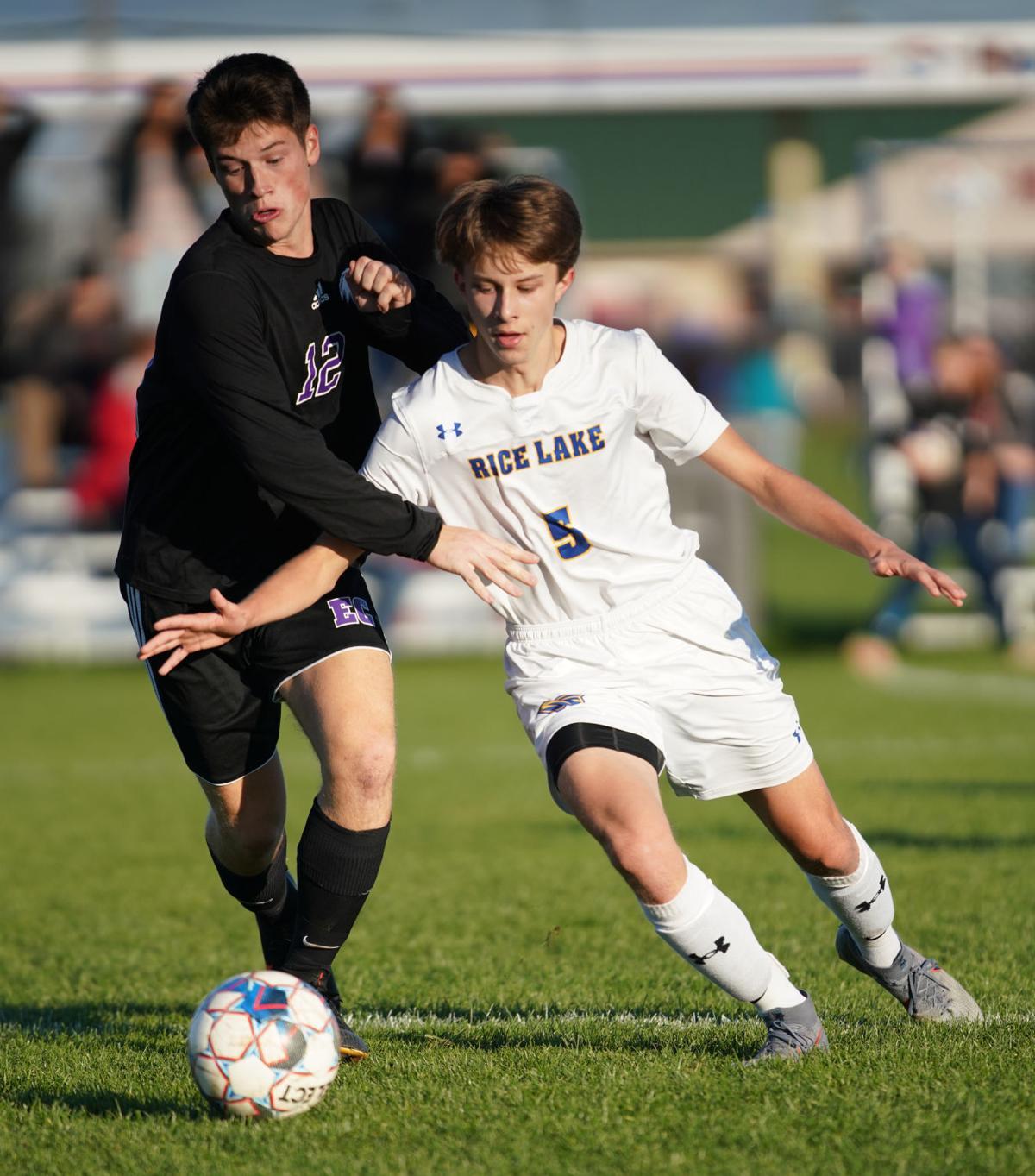 Boys Soccer Rice Lake at Memorial