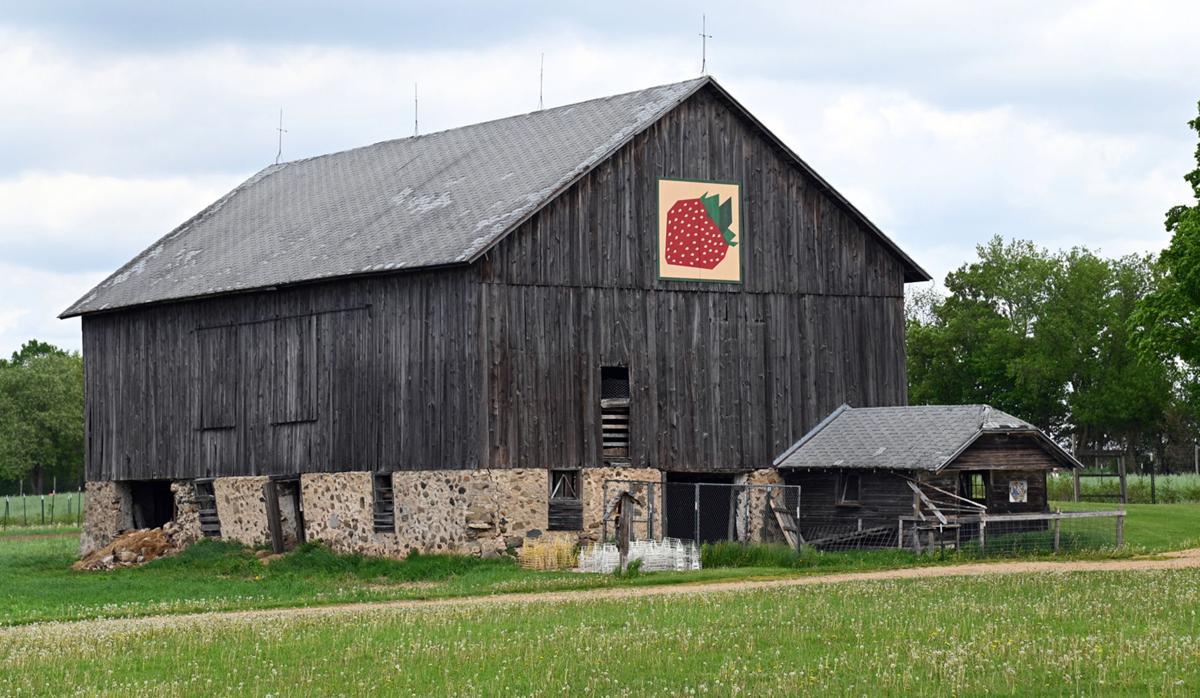 Ben Photo May June 2021 barn and quilt near Bonduel