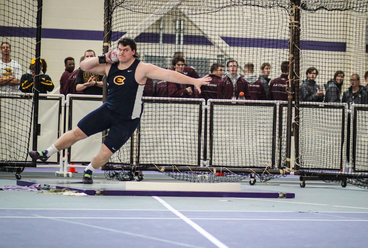 Once a DI football player, Kornack finds home with UW-Eau Claire throwers