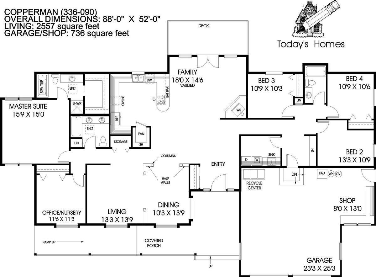 House of the Week floor plan 6/1/19