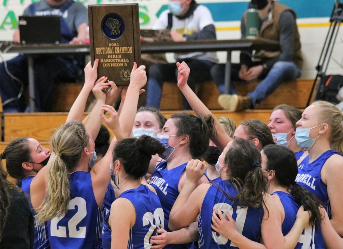 McDonell at Prairie Farm girls basketball