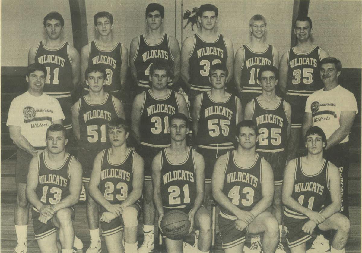 1990 Blair-Taylor boys basketball team