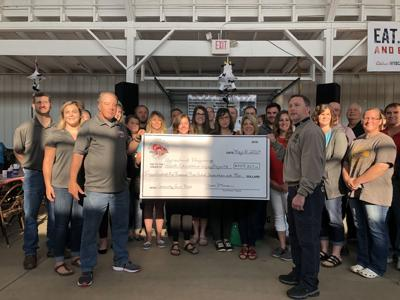 Wood County FTD grant check