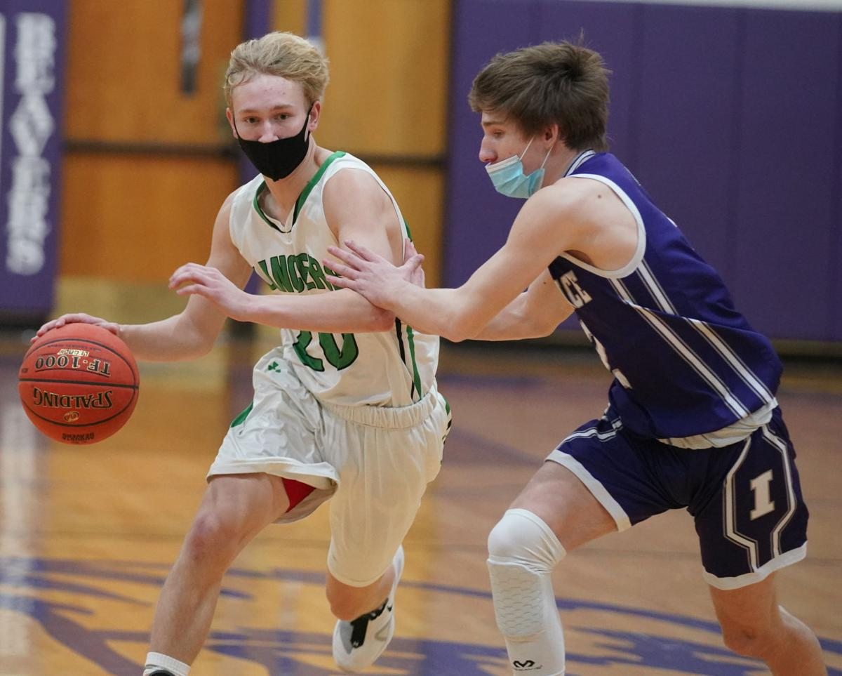 Independence at Immanuel Lutheran boys basketball