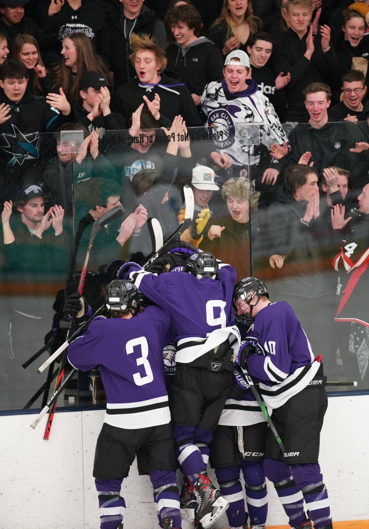 Eau Claire North Memorial hockey