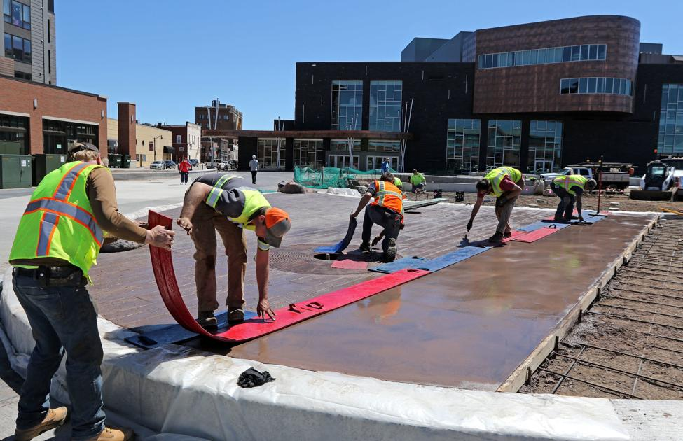 Haymarket Plaza to finish this summer