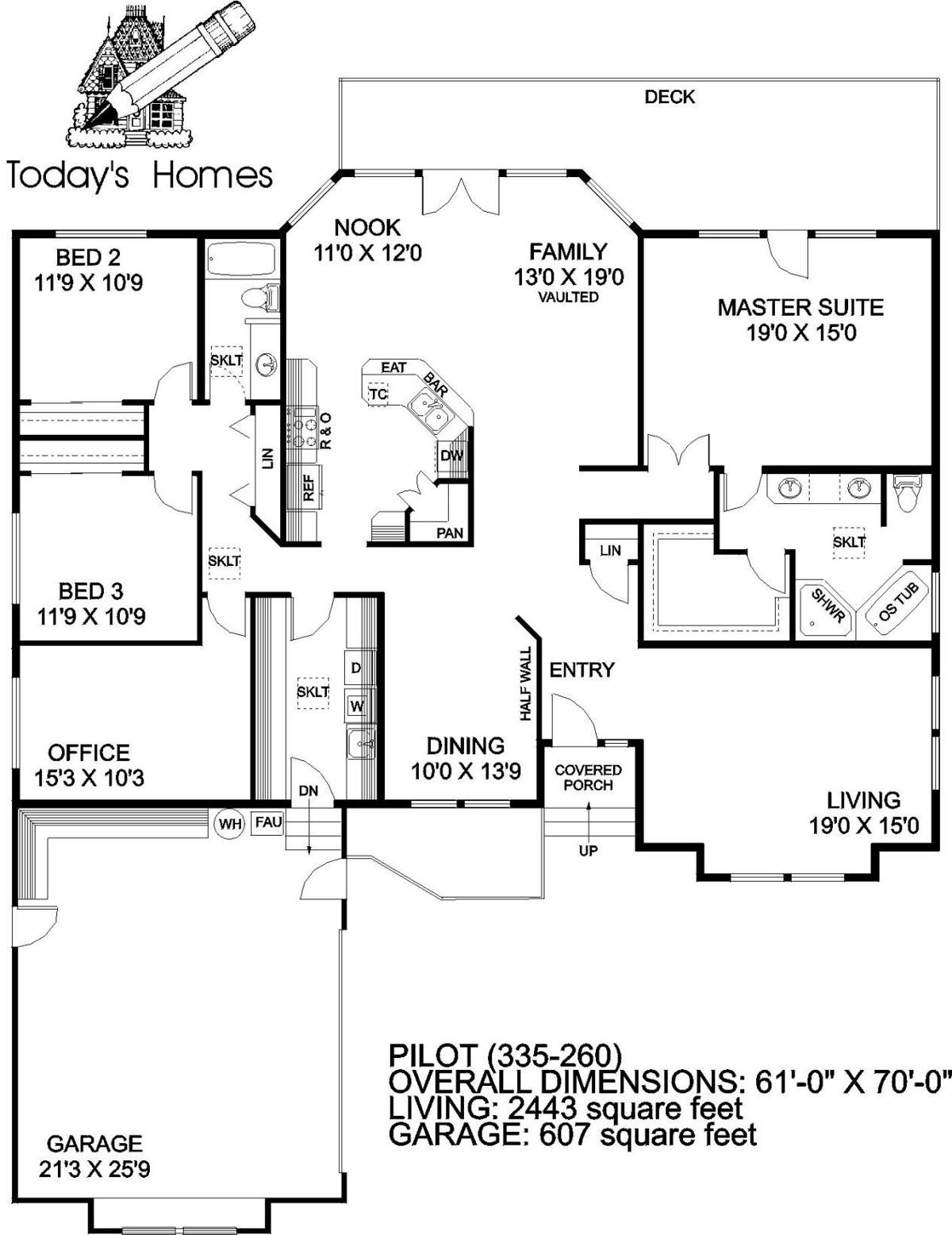 House of the Week floor plan