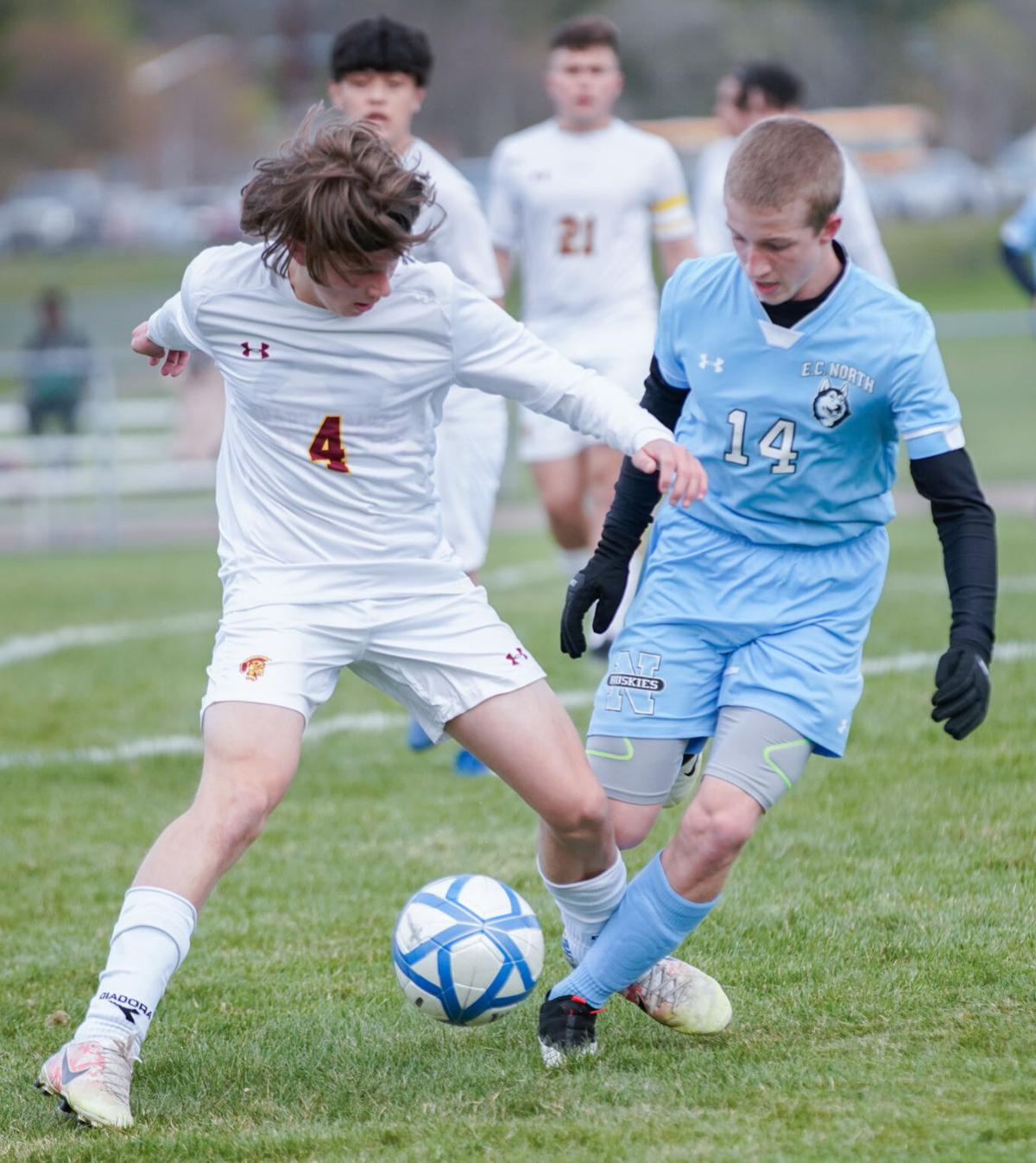 Sparta at Eau Claire North boys soccer