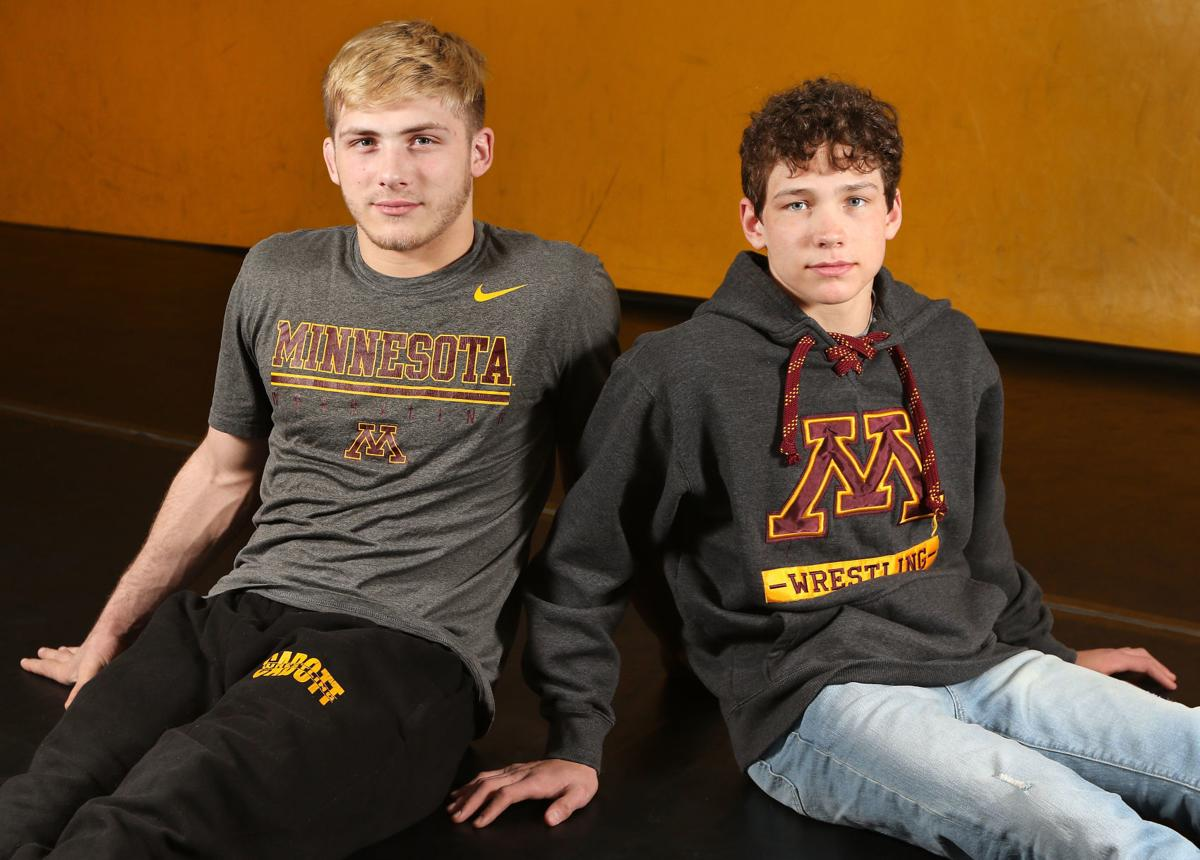 Wrestlers Brady Spaeth & Blaine Brenner