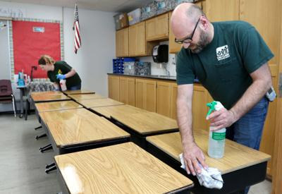 Cleaning Schools