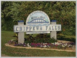 Chippewa Falls sign