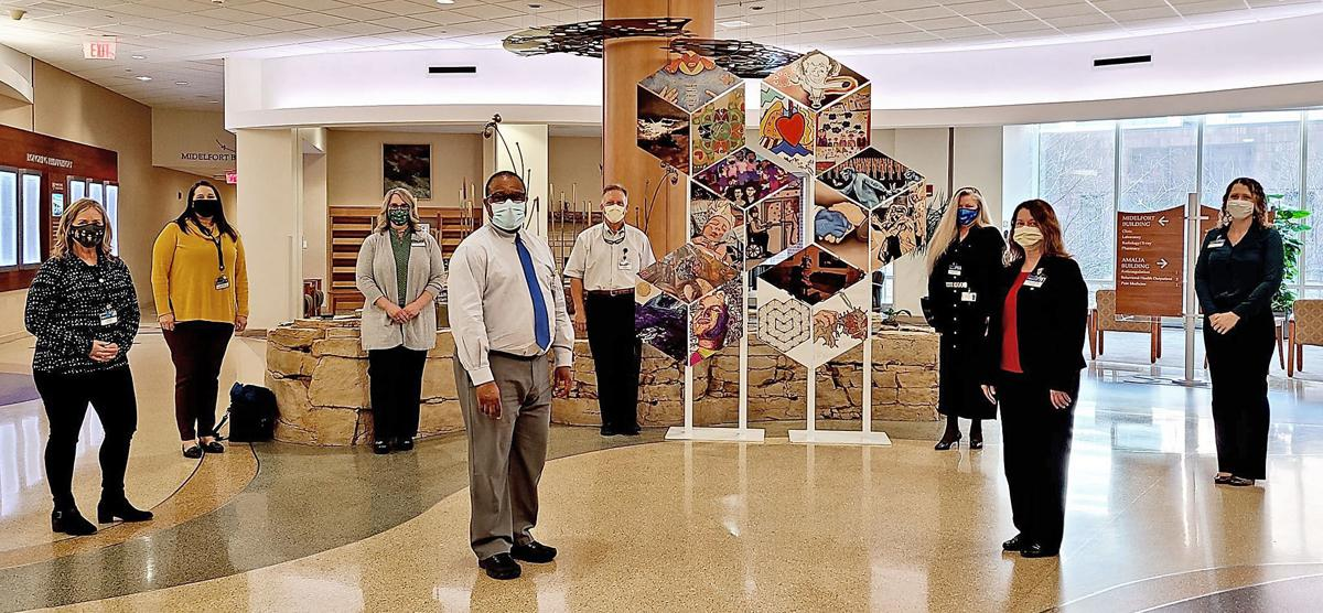Mobile mural: Mayo Clinic art project turns pandemic stories into art