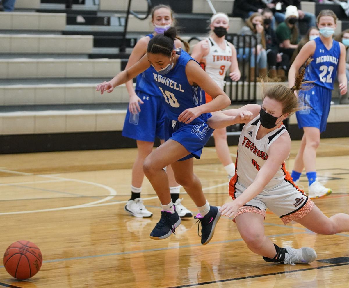 Osseo-Fairchild McDonell girls basketball