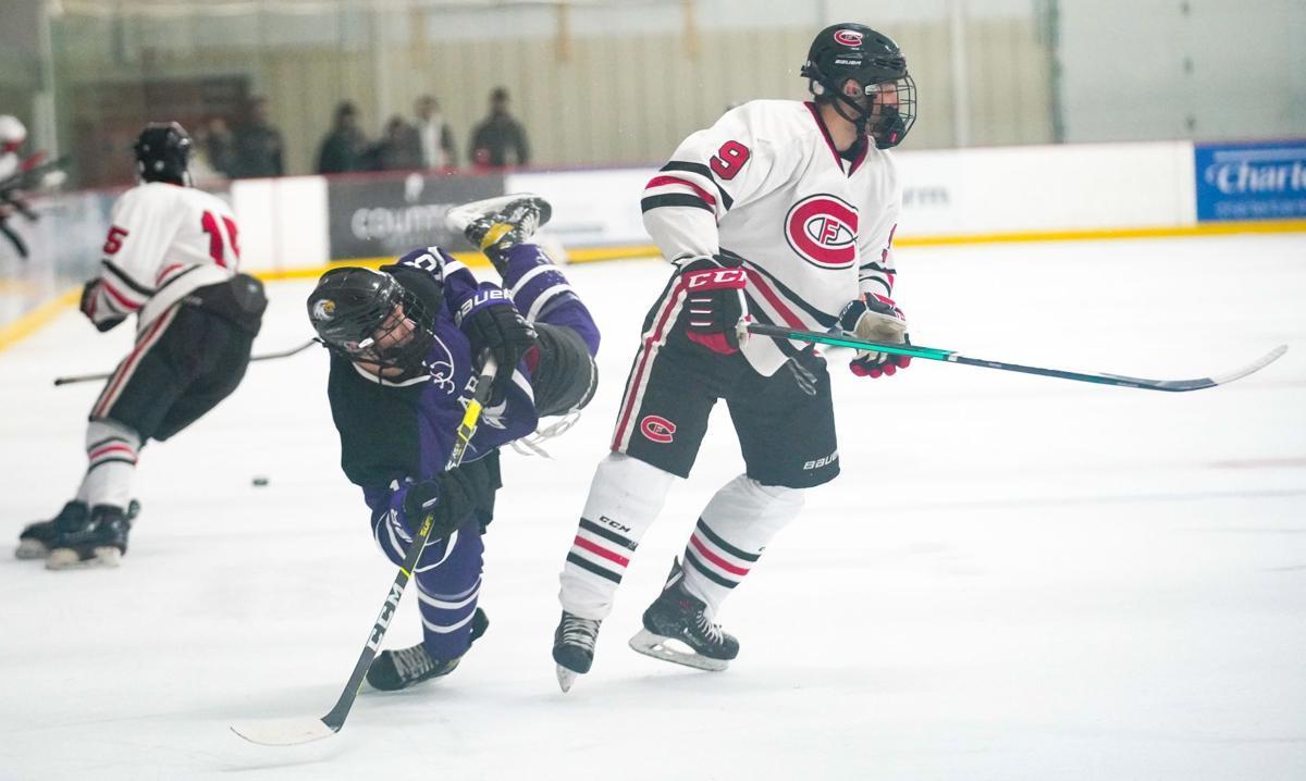 Eau Claire Memorial vs. Chippewa Falls hockey