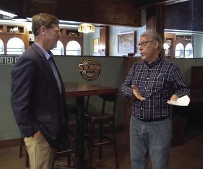 Rep. Kind visits Houligan's