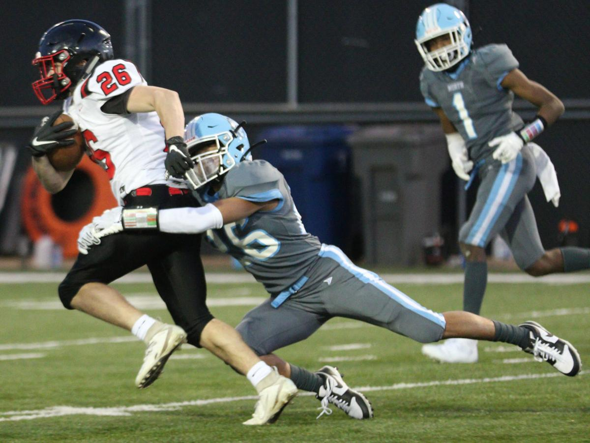 La Crosse Central at Eau Claire North football