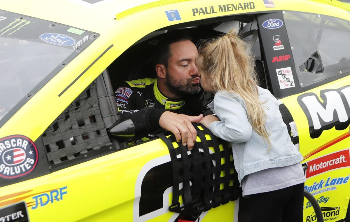 NASCAR Menard Retires Auto Racing