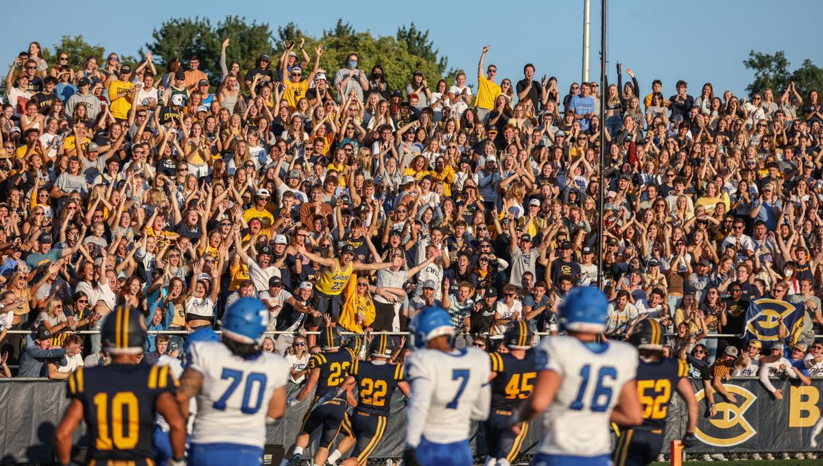 Luther at UW-Eau Claire football