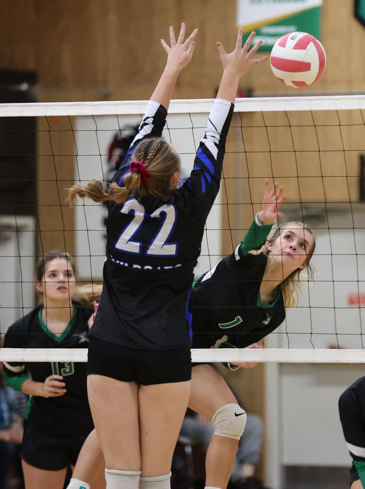 Blair-Taylor at Immanuel Lutheran volleyball