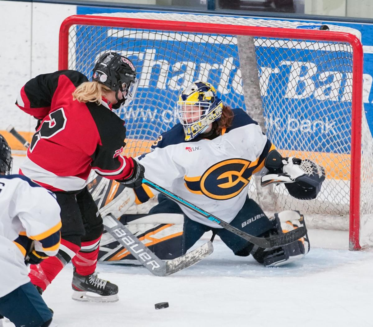 UW-River Falls at UW-Eau Claire women's hockey