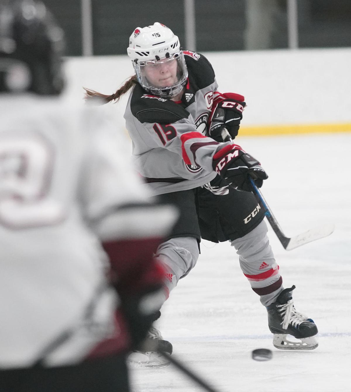 Chippewa/Falls Menomonie at Central Wisconsin hockey