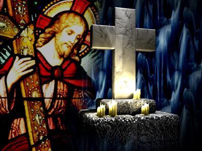 Christ & cross
